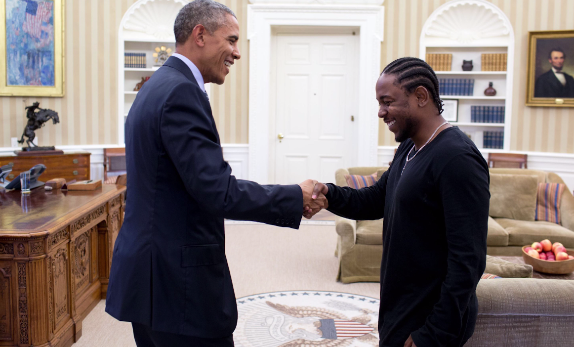 Kendrick Lamar met Barack Obama at the White House: