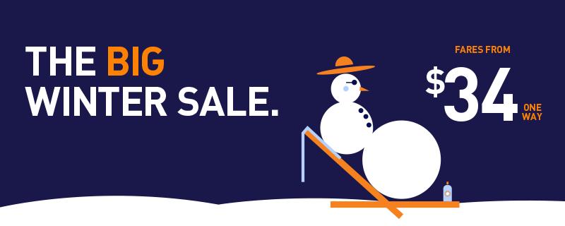 RT @JetBlueCheeps: WINTER SALE! Make it a Happy Blue Year & book a low fare by 1/13! +Restr WinterWanderland https…