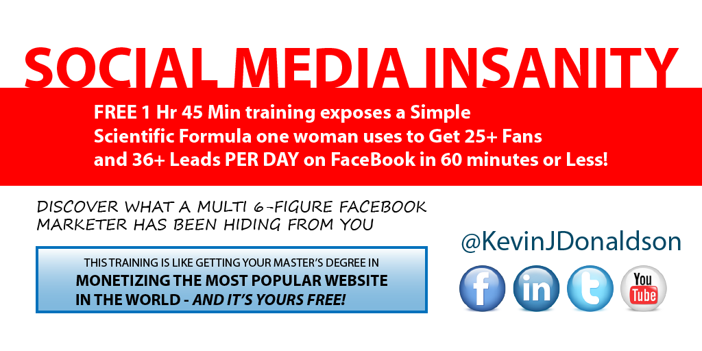 #Facebook #Marketing - 25 New Fans & 36+ Laser-Targeted leads daily! Download #Free training: ... https://t.co/YYRFrQ6YBp