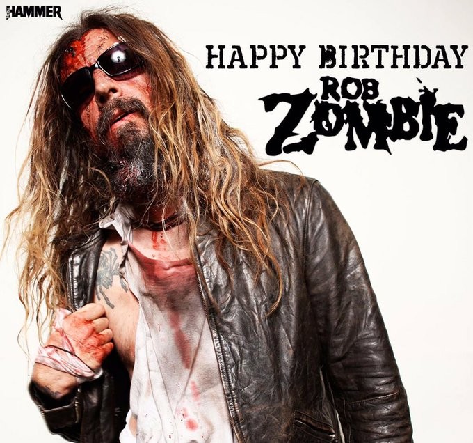 Happy birthday to the awesome Rob Zombie!!