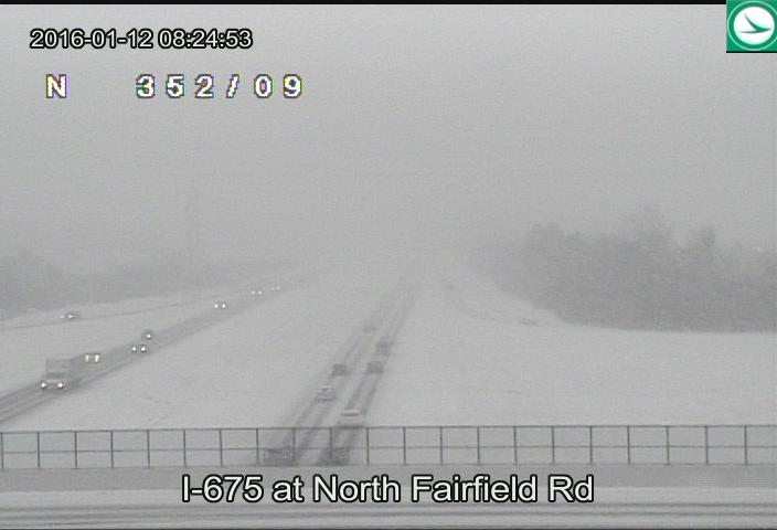 A look now at I-675 at North Fairfield Rd. #WDTNTraffic https://t.co/N1Z28wkbkq