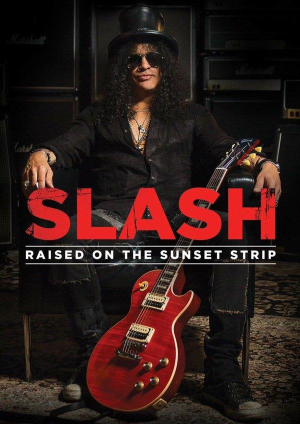 """FEBRUARY  DOCUMENTARY  @Slash in """" RAISED on SUNSET STRIP""""  Date: February 5th! https://t.co/s8aYn6l47t"""