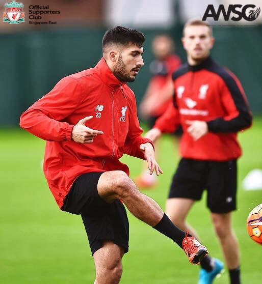 Wishing our young German engine, Emre Can a very Happy 22nd Birthday!!