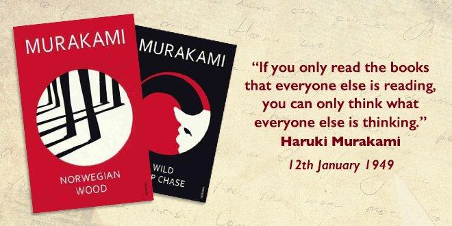 Happy birthday Haruki Murakami  Admire some of his work here: