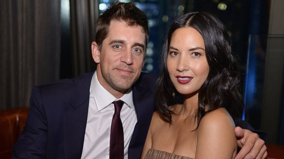 Aaron Rodgers and Olivia Munn engaged according to magazine report #Packers #WKOW https://t.co/PTjpUv8lyF https://t.co/QsI4FBxdwt