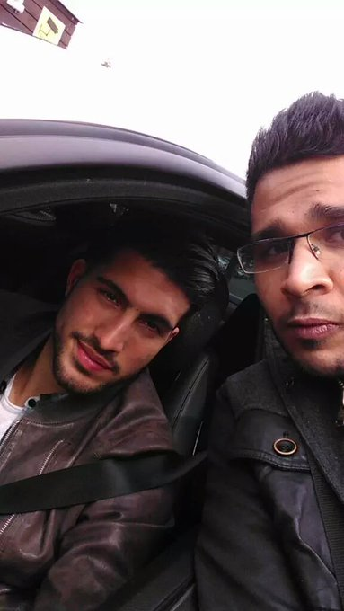 Still cant get over this pic...coudnt get more lucky. Happy birthday Emre Can .
