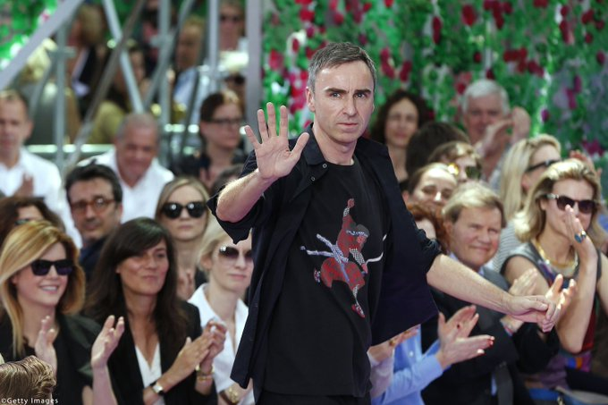Happy birthday to 2015\s most talked about designer, Raf Simons