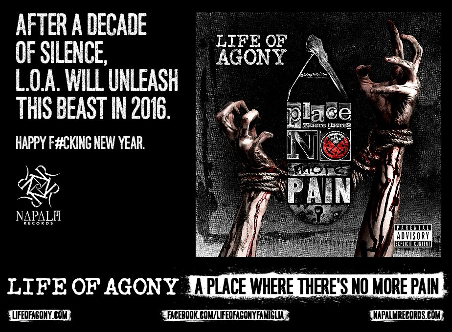 LIFE OF AGONY ANNOUNCE NEW ALBUM! READ THE SCOOP ON ROLLING STONE! https://t.co/VKfD5Htbnv @OffiLIFEOFAGONY https://t.co/KSF7oehNyH