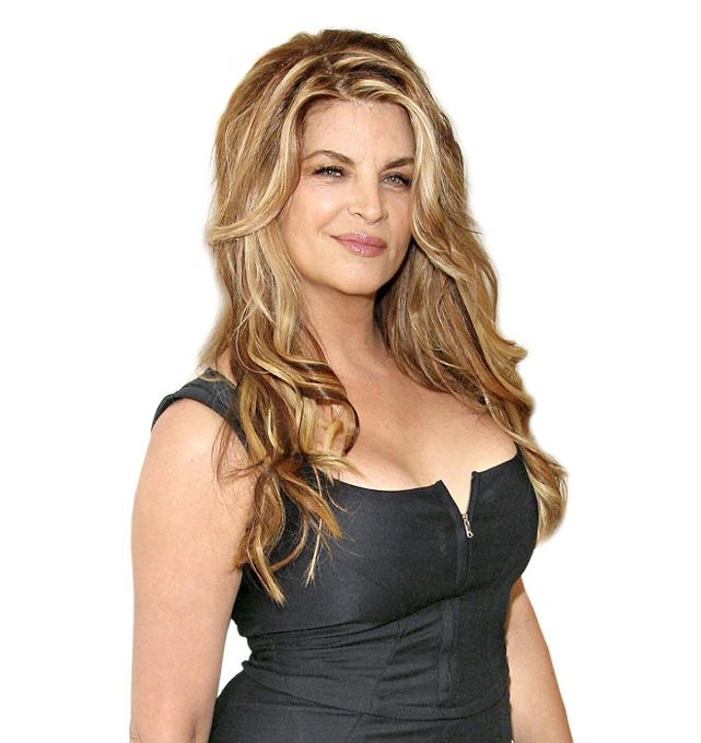 Happy Birthday to Kirstie Alley! Looking fabulous!