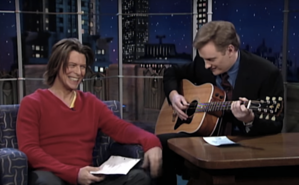 Conan O'Brien remembers David Bowie through the years: