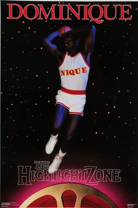 """Happy 56th birthday to \""""The Human Highlight Film\"""" Dominique Wilkins"""