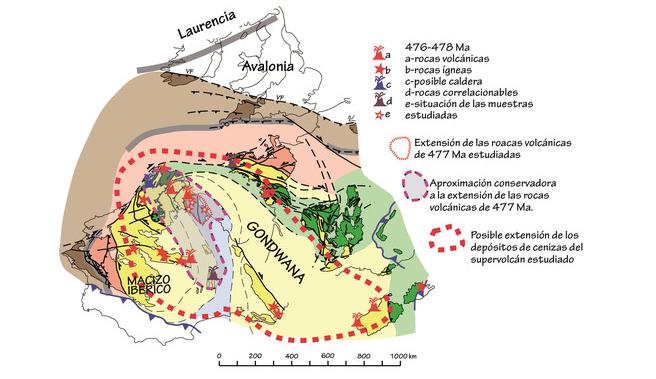 Un supervolcán arrasó el norte de la Península hace 477 millones de años  https://t.co/ZSmLBppy5q #geología #ICOG https://t.co/ibBrM3YNqw