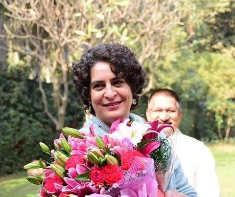 Happy birthday priyanka Gandhi Ji...God bless U.