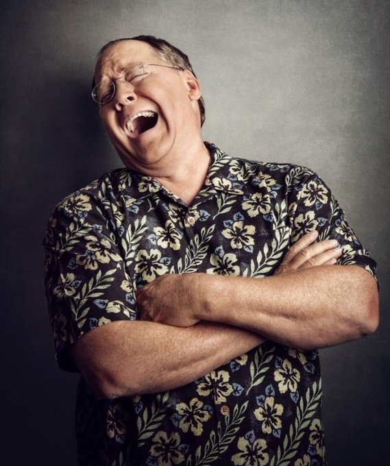 John Lasseter laughs in the face of growing older. Happy 59th birthday, John!