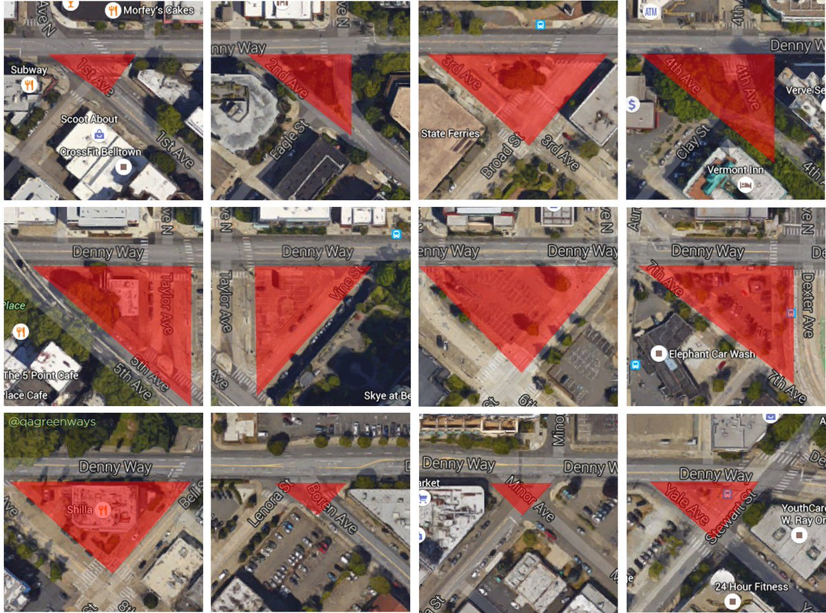 test Twitter Media - RT @QAGreenways: Denny Triangles of Death: Nearly every intersection along Denny is a hazard to people walking. https://t.co/eokOVtzvFA