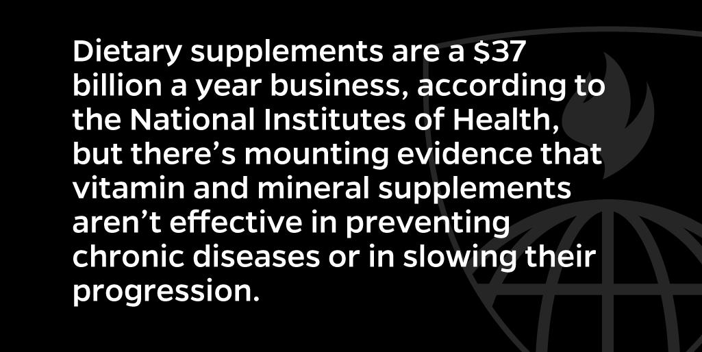 We're wasting $5.7 billion on vitamins we don't need https://t.co/DTuJixhxFO https://t.co/OHbNfJTvJY