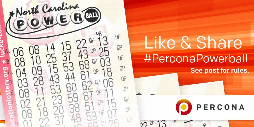 Play the Percona Powerball Pool! #PerconaPowerball Like & Share To Enter, See Details Here:https://t.co/PsEVDTuyiY https://t.co/PGLUkZfDL7