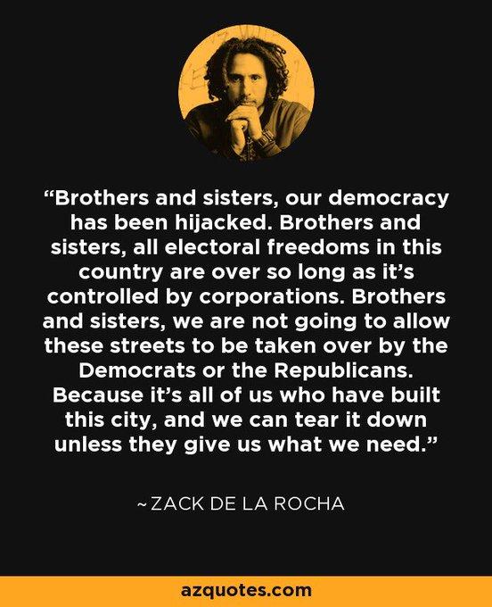 Happy birthday to one of the last true rebels, zack de la rocha