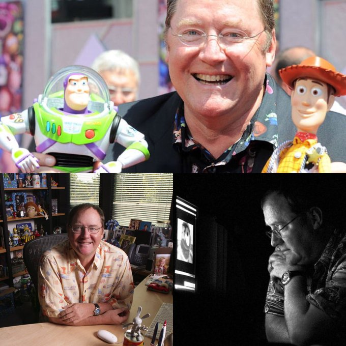 Happy Birthday to the one and only John Lasseter, genius and mastermind behind Pixar and Disney Animation!