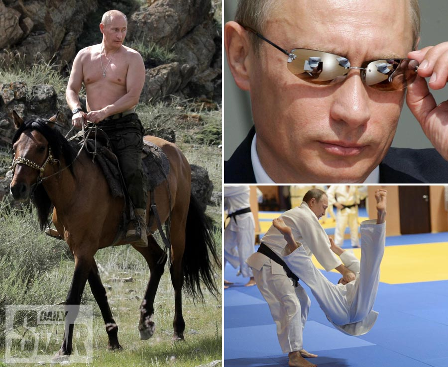From Riding A Horse To Taking Someone Down The Most BADASS Vladimir Putin Pics