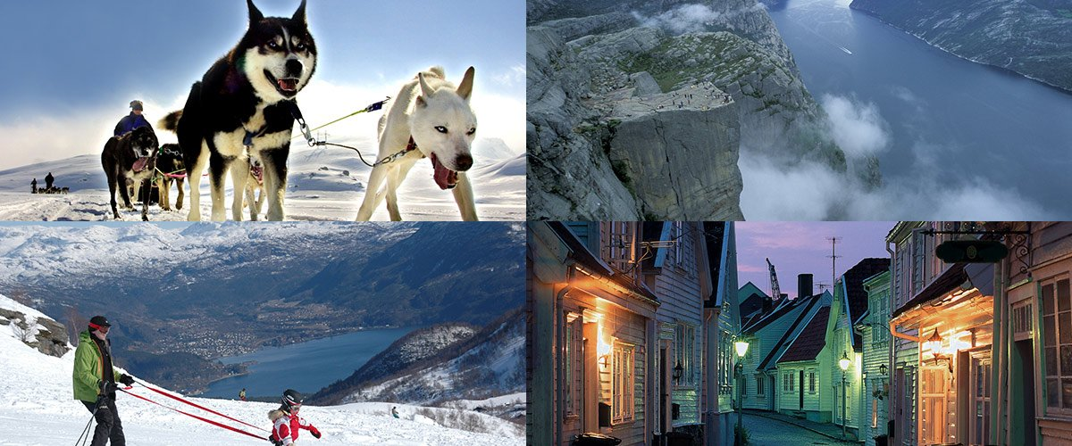 Combine urban pleasures in the city with Fjord excursions or ski adventures from Stavanger!