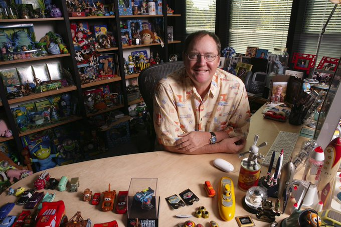 Happy birthday to this Hawaiian shirt wearing genius. The one and only, John Lasseter.