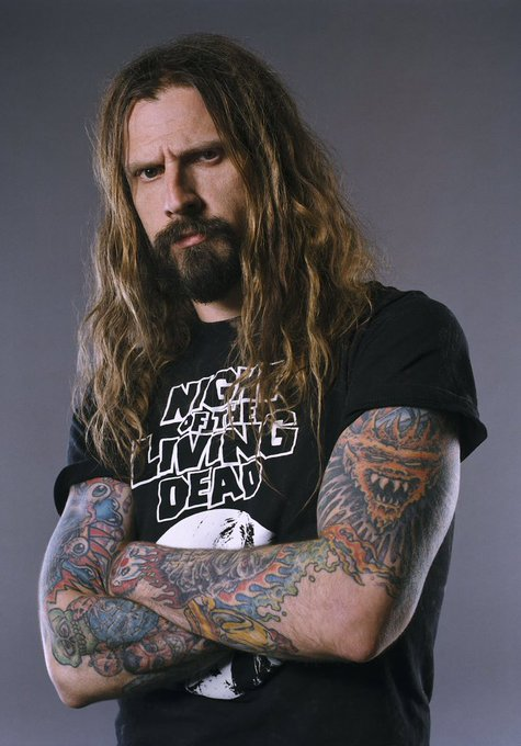 Happy birthday to one of horrors greatest icons today Rob zombie and one of Metals most iconic artists