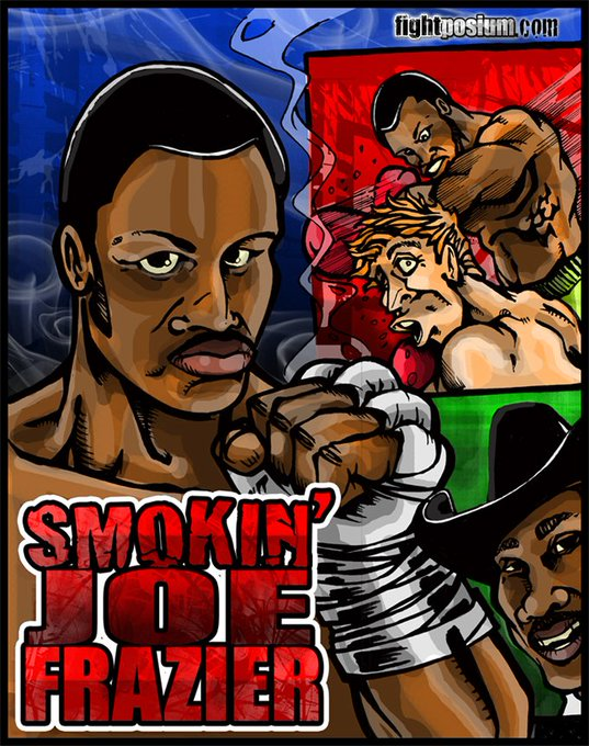 "Happy Birthday to the legendary ""smokin\\"" Joe Frazier!"