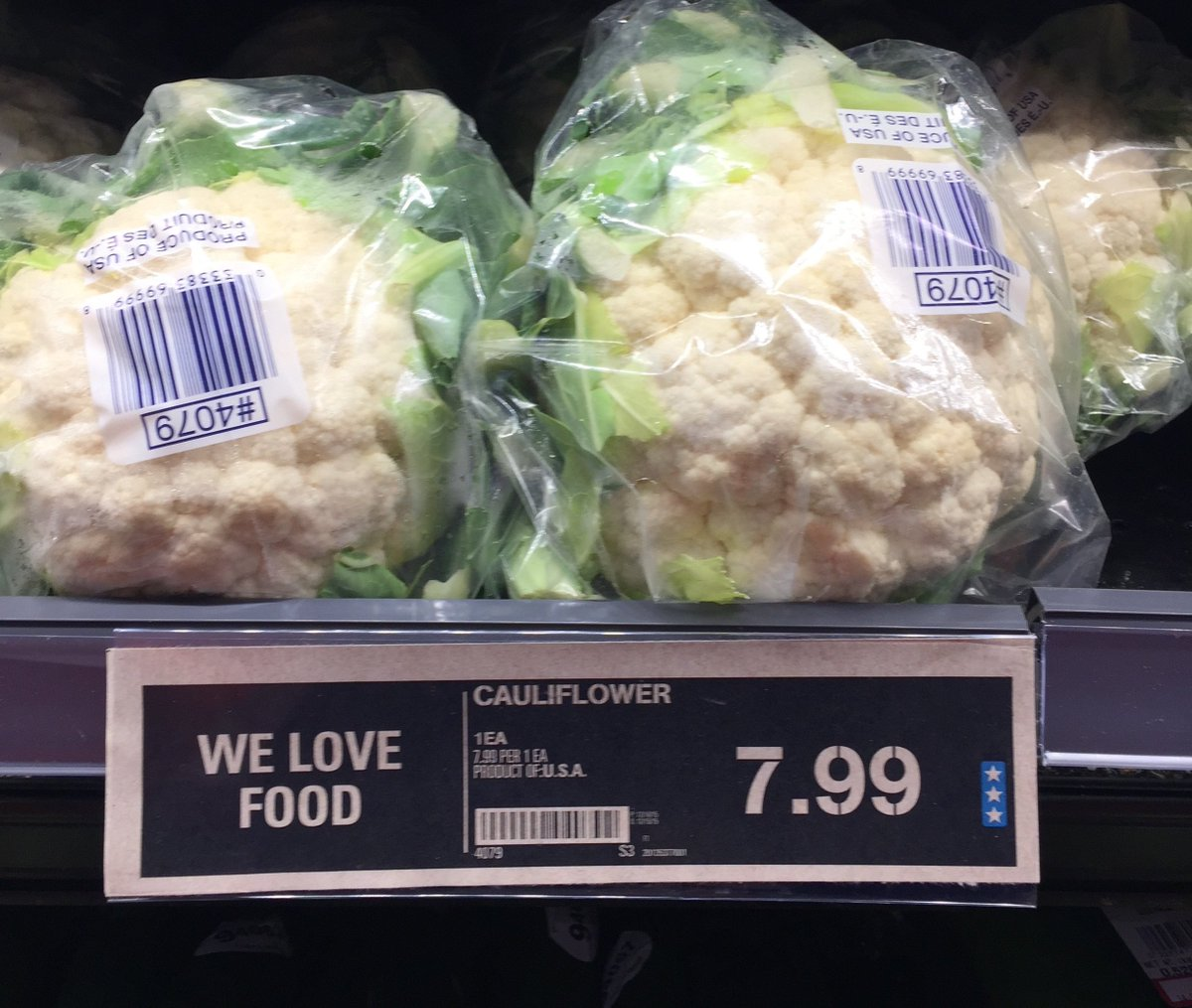 @sladurantaye Heh. Had a similar reaction when I saw the price of cauliflower. Welcome to the future… https://t.co/fxloxyePY3