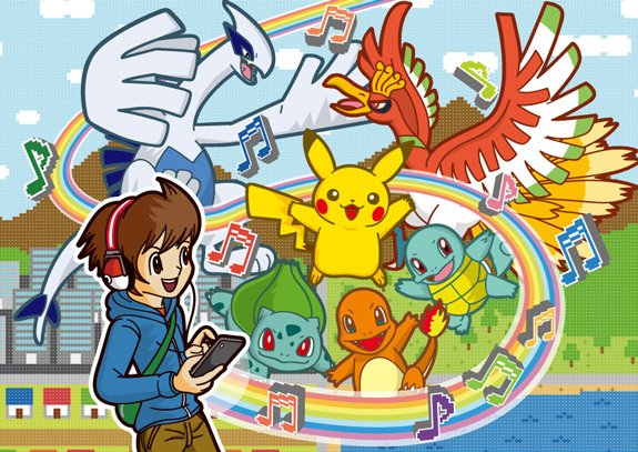 ¡Thanks you for all those years creating Pokémon music! You make me smile.   ¡Happy Birthday!