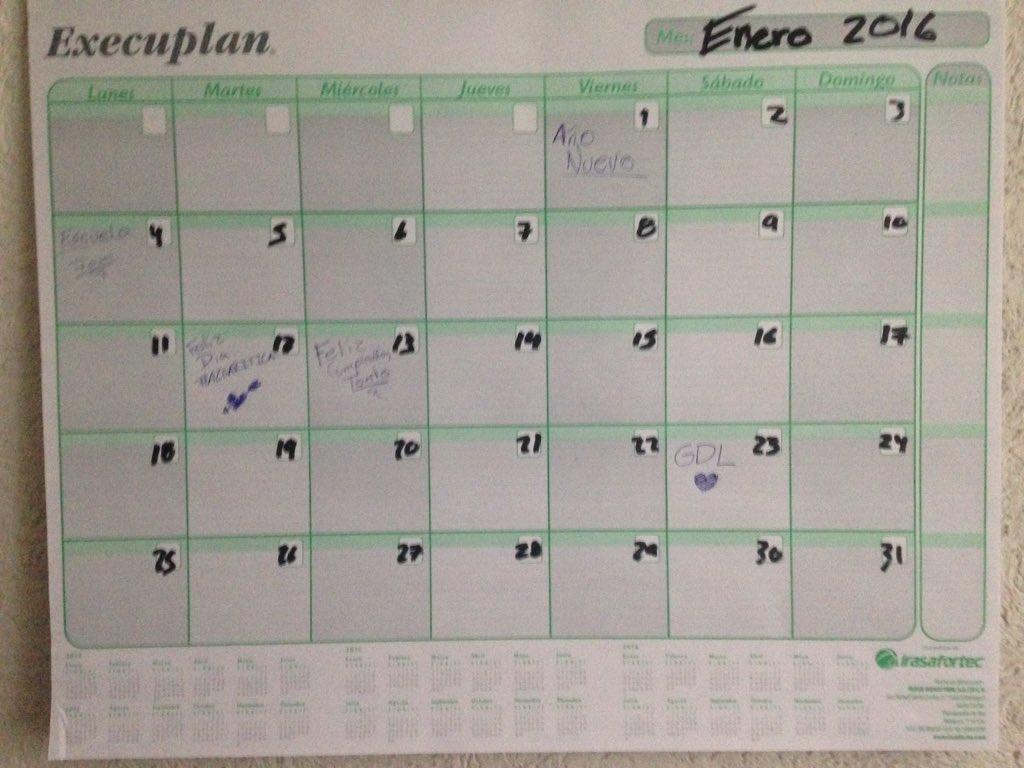 Harold Azuara (@haroldazuara): Ni crean que se me iba a olvidar, está en mi calendario. Gracias por tanto, feliz día #Azuariticas las amo ❤️
