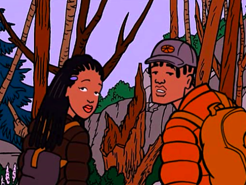 """We may be tokens, but we're damn good-looking ones"" Jodie & Mack, Daria #BlackestCartoonCharacters https://t.co/KCsmWUQMjp"