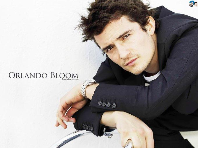 Happy birthday my sweetie orlando bloom have a wonderful day