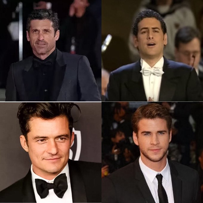 January 13th, Is Our Birthday Happy Birthday Patrick Dempsey  Juan Diego Florez Orlando Bloom Liam Hemsworth