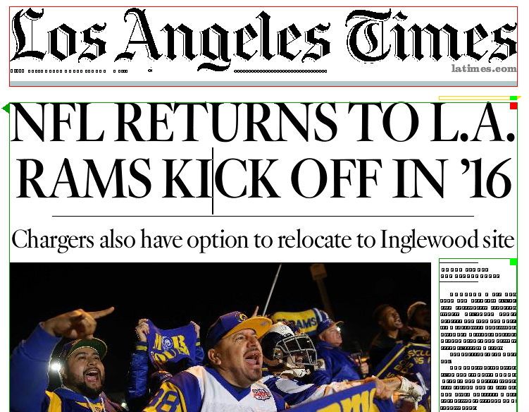 An @latimes front page two decades in making: https://t.co/dj4vTsOeGw