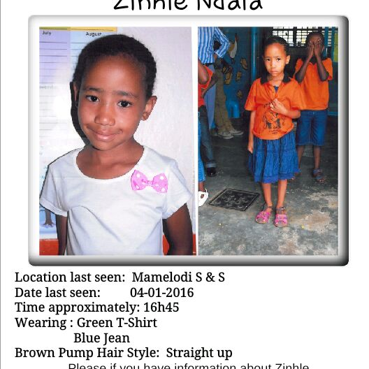 @GlenLewisSA @unathimsengana @MelBala we still looking for her please help https://t.co/MUdPILl9QD