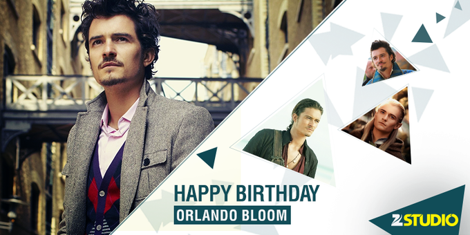 Did You Know, Orlando Bloom\s mother was born in India! Here\s wishing the handsome star a very Happy Birthday!
