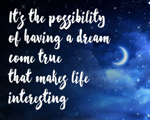 A little #WednesdayWisdom for those who believe in dreams coming true with https://t.co/GgSy4an0eG https://t.co/WX4AxQdoL1