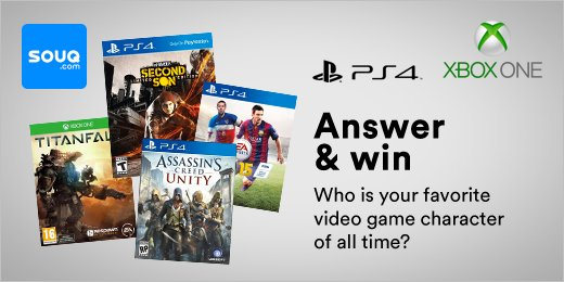 #CONTEST: WIN 3 of 6 video games! Answer the question, Follow us, Like & Retweet this > https://t.co/9CpM8o9tcb https://t.co/Ezh54iYj9a