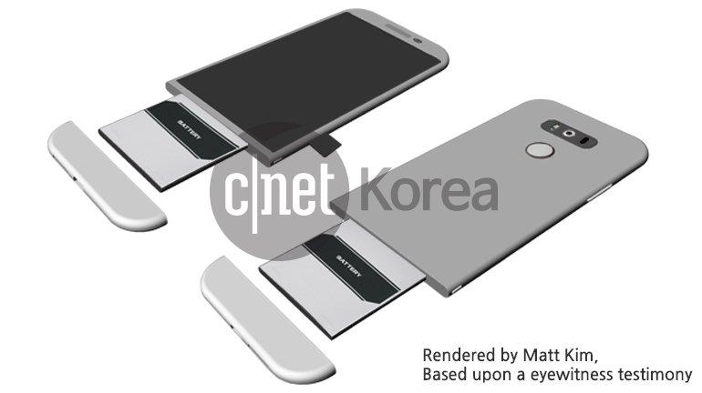 LG G5가 '모듈식 배터리'를 채택한 것으로… 두께를 줄일 수 있는 일체형 디자인의 장점과 바로 배터리를 교체할 수 있는 분리형 디자인의 장점을 조합 https://t.co/zsIqBViDQo https://t.co/rm0LeW98tg