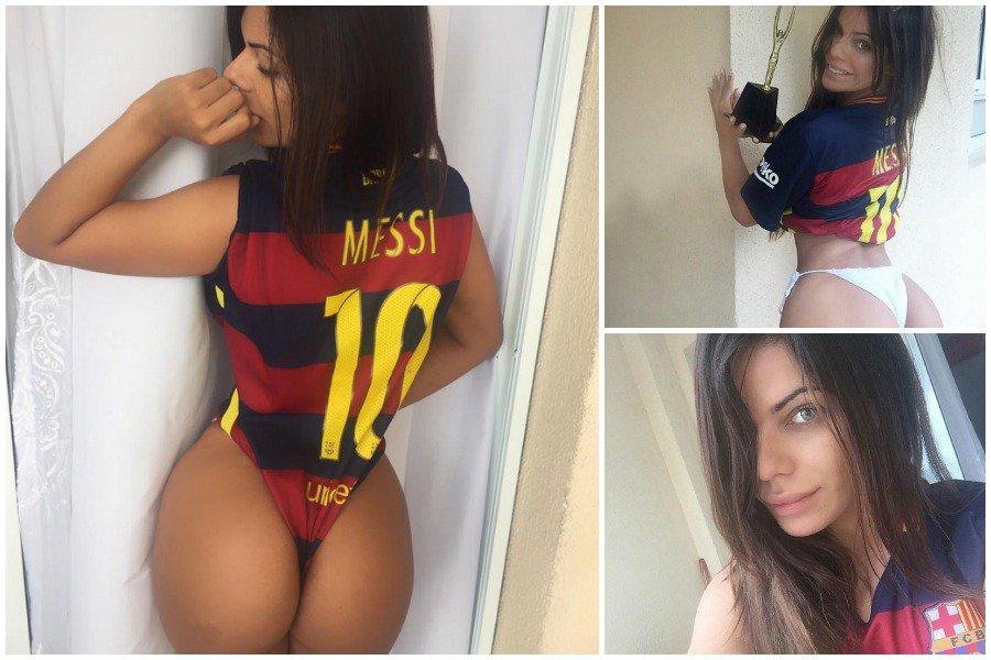 RT @sports_fr: #Football Lionel Messi félicité par Miss Bumbum 2015 pour son cinquième Ballon d'Or https://t.co/eC1P2uL3oZ https://t.co/Dz2…