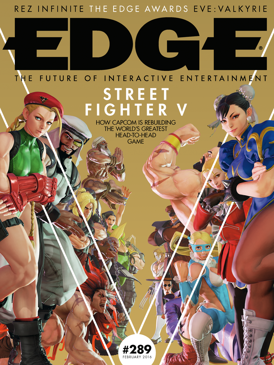 Our new issue, which features Street Fighter V, is out tomorrow. Here are the retail and subs covers for you. https://t.co/1Co3V6tYrE