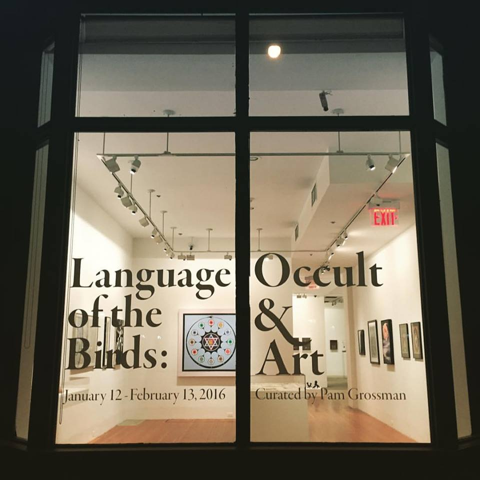 Occult & Art exhibit at 80WSE Gallery hosted by @Phantasmaphile https://t.co/v0rLXpX0AV (Image via Jesse Bransford) https://t.co/3h36aN28Ok