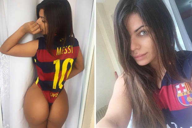 RT @Daily_Star: Miss BumBum has posted this sexy tribute to #BALLONDOR winner Lionel Messi https://t.co/SdqKKuXULI #BARCELONA https://t.co/…