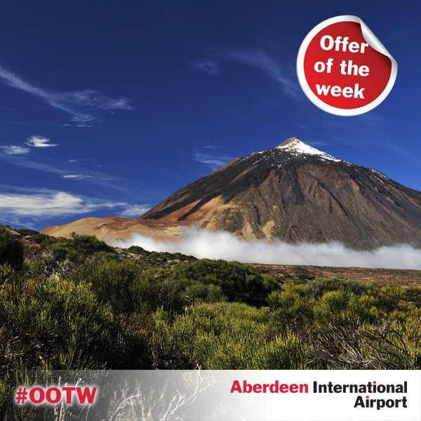 Offer of the week: 14 nights in Tenerife, leaving 8th May from £594pp. Book now: