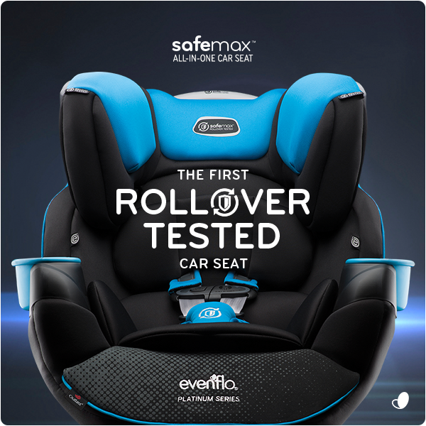 Introducing THE FIRST ROLLOVER TESTED CAR SEAT. The Evenflo SafeMax™ All-in-One. @BabiesRUs https://t.co/zX1ET3Jeum https://t.co/41RBQ3ChD8