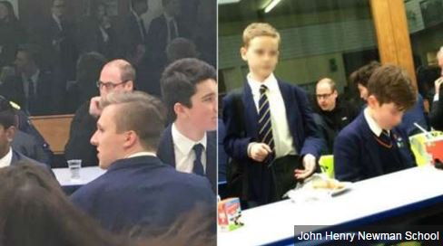 Prince William's lunch at Hertfordshire school - https://t.co/hlt2BVBVxv https://t.co/Hu1VQG94im