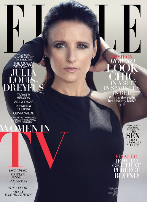 Happy 55th Birthday to Julia Louis-Dreyfus.  Best known for Seinfeld, The New Adventures of Old Christine, and Veep.