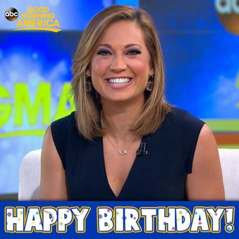 Happy Birthday Ginger Zee!  I saw her n person at Good Morning America last July in NYC I took the other 2 photos