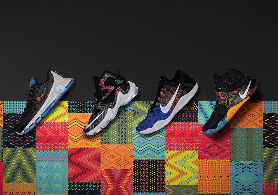Nike 2016 Official Black History Month Collection. Total of 28 products being released from now till Feb. Thoughts? https://t.co/fnXfkJ0b7A
